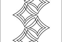 Patchwork-quilt linear