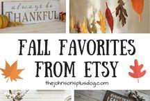 Fall / Fall | Thanksgiving | Halloween | DIY | Fall Decor