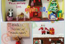 Porcelana fría / Polymerclay / Conoce mi trabajo en www.artesanies.com.mx y en instagram @anita_0.0_