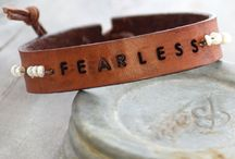Belt Bracelet / Metal stamping inspiration