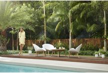 Outdoor Living / Designer Living should be comfortable, cozy and good looking.