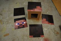 Kids costumes / Mine craft