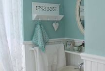 Shabby bathrooms