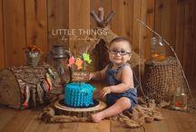 Fischer first birthday pictures