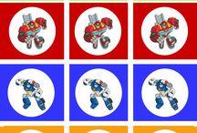 Party - Rescue Bots / Fiesta de cumpleaños