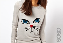 Funny cat wear / Because cats are always cool.  / by Melanie Twilley