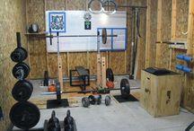 Shed gym