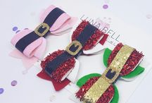 Christmas Bows & Felt Crowns / Christmas Bows Collection