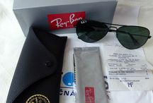 Ray Ban Aviator SunGlasses / Ray Ban Sun Glasses vintage and modern for men and women