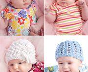 Gorros de bebé (baby hats)
