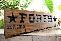 Farm / Ranch Signs / Farm Sign-Family Sign-Wedding Sign-Marriage Sign-Custom sign-Personalized Wood Sign-Anniversary Gift