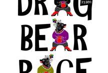 Drag Bear Race / DRAG BEAR RACE ® - Bear Guys on the heels! Jätä karvat ajamatta, pukeudu, meikkaa ja tule kilpailemaan vaihteleviin rataolosuhteisiin DBR®:n voitosta. Arvovaltainen tuomaristo seuraa tapahtumaa ja arvioi kisaan osallistuneiden suorituksia. Do not shave, dress, makeup and compete in the changing track conditions in DBR ® 's victory. A prestigious jury will follow the event and assess the performance of participants in the contest. DRAG BEAR RACE ® ON REKISTERÖITY