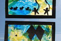 Kids art projects / by Debbie Prickett