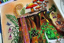 Floresta Encantada - Tronco / Enchanted Forest - Tree stump