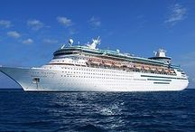 Cruise Ship / A cruise ship or cruise liner is a passenger ship used for pleasure voyages, where the voyage itself and the ship's amenities are a part of the experience, as well as the different destinations along the way.