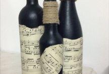 "Le mie bottiglie ""shabby"" e non!!!n"