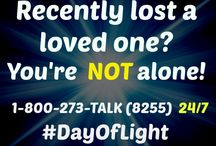#Dayoflight Suicide Prevention