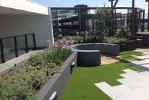 Rooftop & Courtyard Garden Areas by Landworks