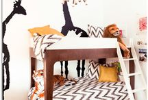 Modern Boy's Bedroom by Little Crown Interiors / A very cool modern boy's room designed by Little Crown Interiors, in Orange County, CA.