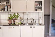 Erikas hus: Köket / #gamla #hus #byggnadsvård #restaurering #funkis #kök