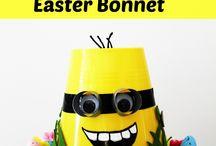 Easter hats bonnets