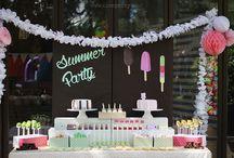 Summer Kids Parties