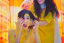 #Haldi  #Yellow  #suite  #turmeric  #fun  #masti  #bride  #friend  #yellow  #beauty  #capture / Haldi