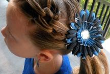 Hair Ideas for the Girls / by Lori U