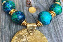 Tibetan and Naga jewelry /  Handmade jewelry, Handmade Necklace