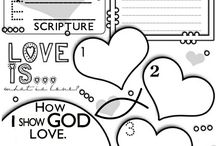 Kids Ministry Activity Sheets