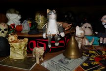 i love cats / including my kitties & kitty collectibles..