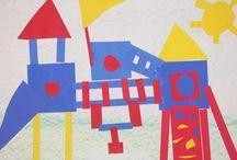 (1) kindergarten art / by Michelle Dillon