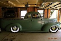 My 1946 chevy pickup restoration / My 1946 chevy coupe ute