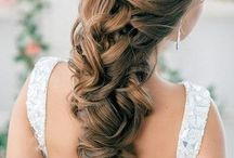 Wedding hair