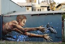 art graffiti murals paint