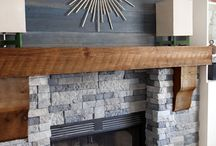 Fireplace mantle / Ideas