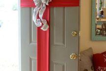 christmas doorways