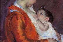 The Art of Motherhood / Throughout history, artists have documented the beauty of breastfeeding mothers & children.