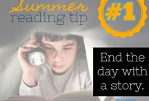 Summer Reading Tips / Avoid the Summer Slide with these tips designed to help students develop a reading habit! / by Teacher's Notebook