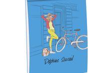Delphine Soucail by Quo Vadis / Quo Vadis vous propose une nouvelle collection de #papeterie mettant en scène les anecdotes de la vie de tous les jours !
