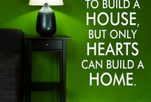 Inspirational Home Decor Quotes / Need a few words of encouragement....Scroll down and be uplifted!