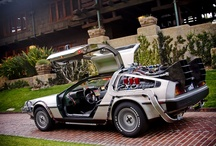 DeLorean - Back To The Future Car / This has got to be my all time favourite car. Wish I had one.