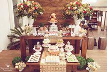 Festas adultas / casamentos / weddings / Decorações personalizadas com identidade visual exclusiva que fizemos para festas de aniversário adultas, eventos corporativos, casamentos e mini-weddings. Pequenos Luxos - www.pequenosluxos.com
