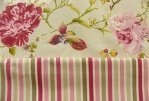 Tissus Fleuris (Thevenon) / Tissus fleuris, fleurs, floral de la Société Thevenon テヴノン社の花柄布
