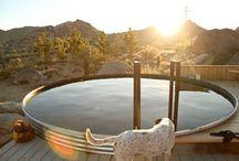 Home made pool/sauna