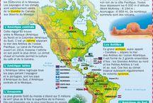 les continents#kıtalar