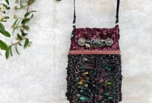 Beaded Cell Phone Pouches