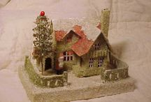 Beautiful Glitter Houses Vintage / by Beth Robey