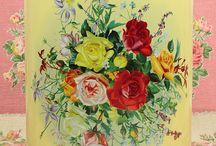 floral tins