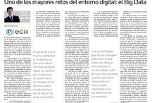 Ecix Group en los medios / Nuestras apariciones en la prensa.